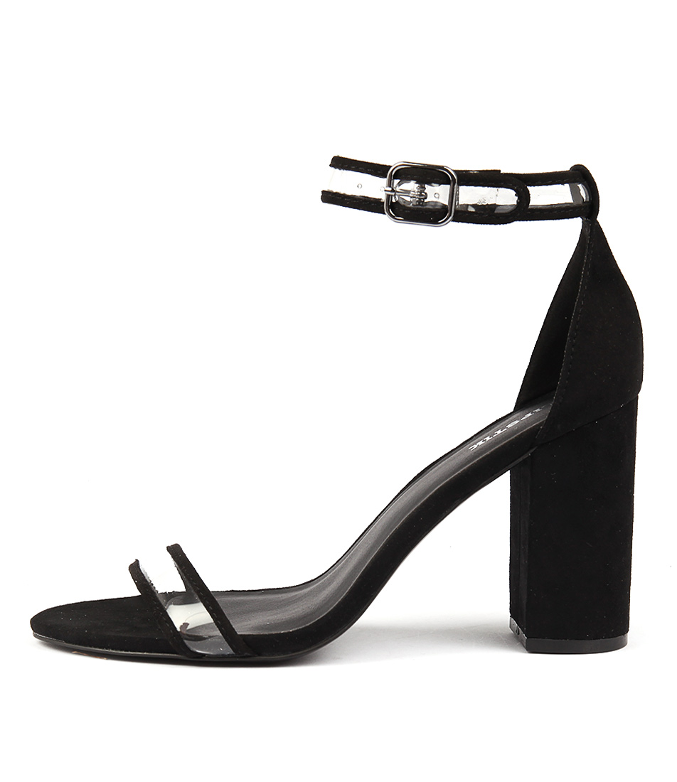 Photo of Lipstik Inessa Li Black Heeled Sandals womens shoes