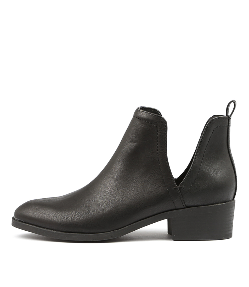 Lipstik Rosemary Black Ankle Boots