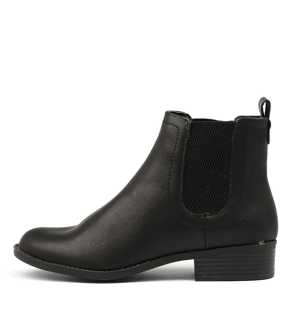 Photo of Lipstik Akira Li Black Ankle Boots womens shoes