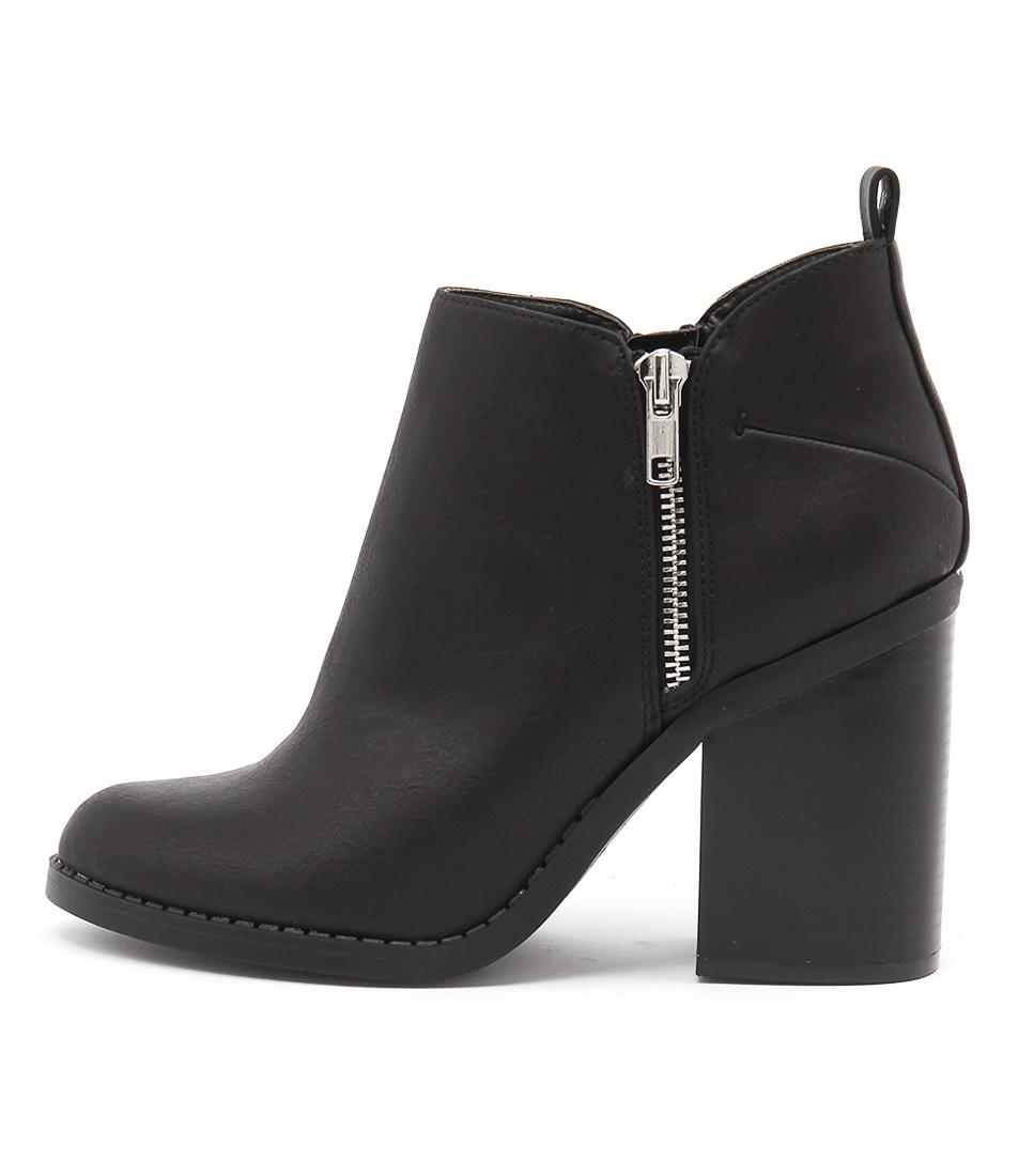 Lipstik Nutra Black Ankle Boots