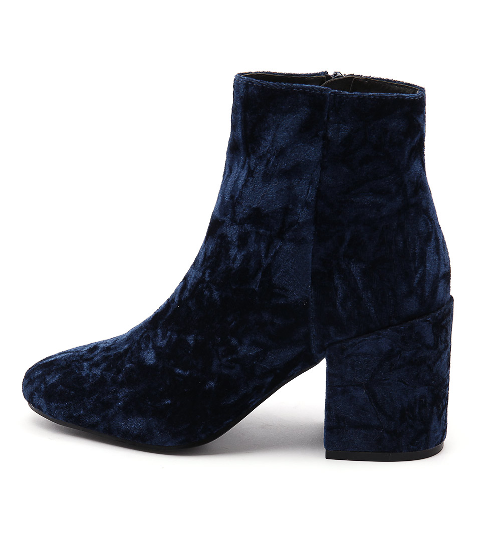 Lipstik Sparks Li Navy Casual Ankle Boots