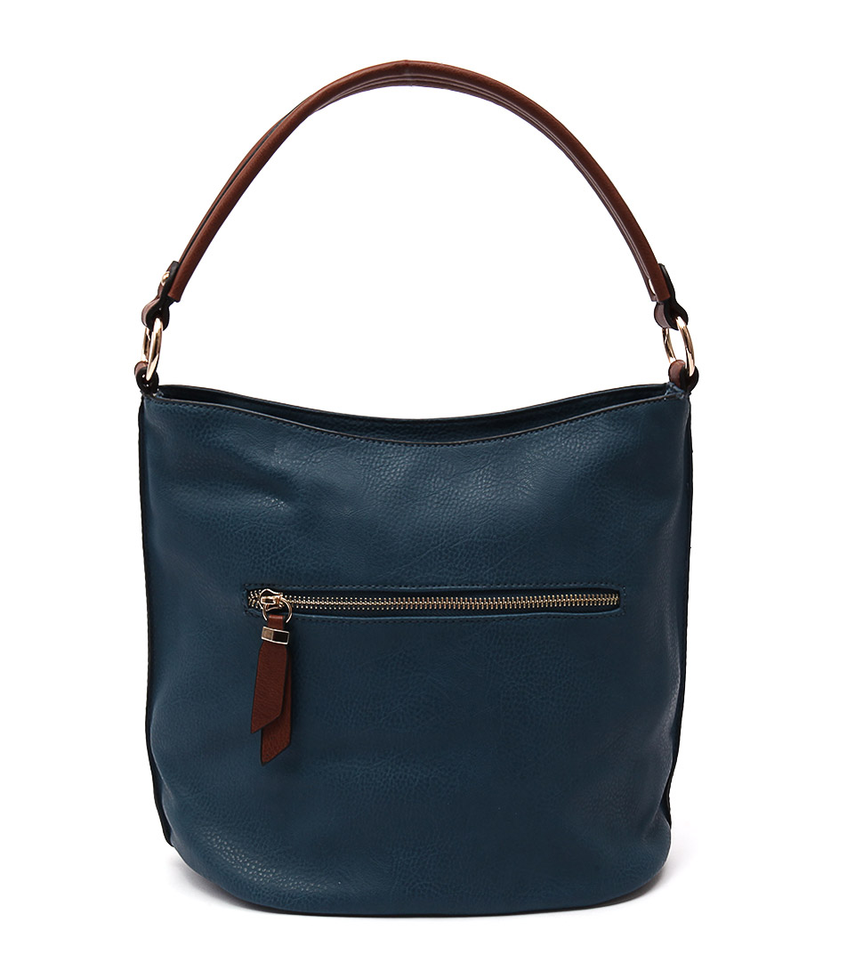 Louenhide Abby Teal Tote Bags