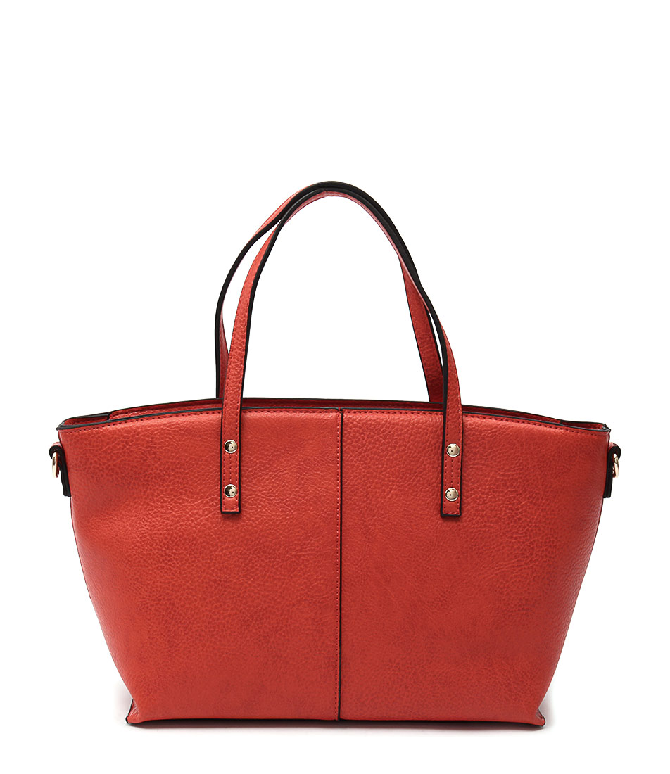 Louenhide Baby Edwina Tangerine Tote Bags