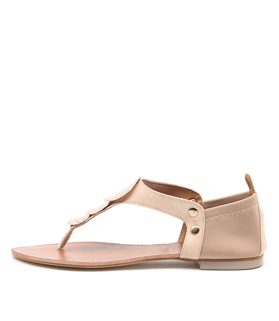 Los Cabos Val Blush Casual Flat Sandals