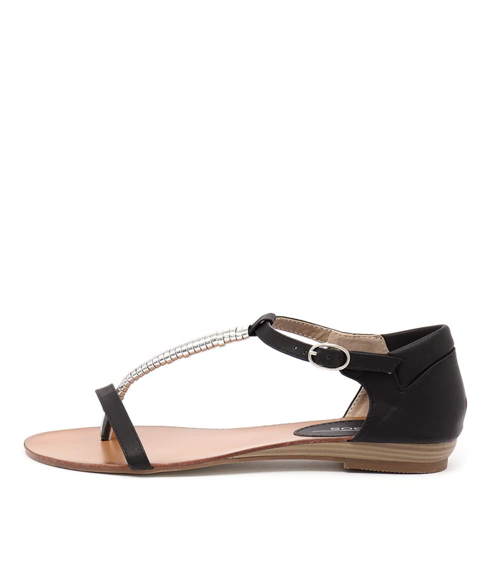 Los Cabos Cila Black Sandals