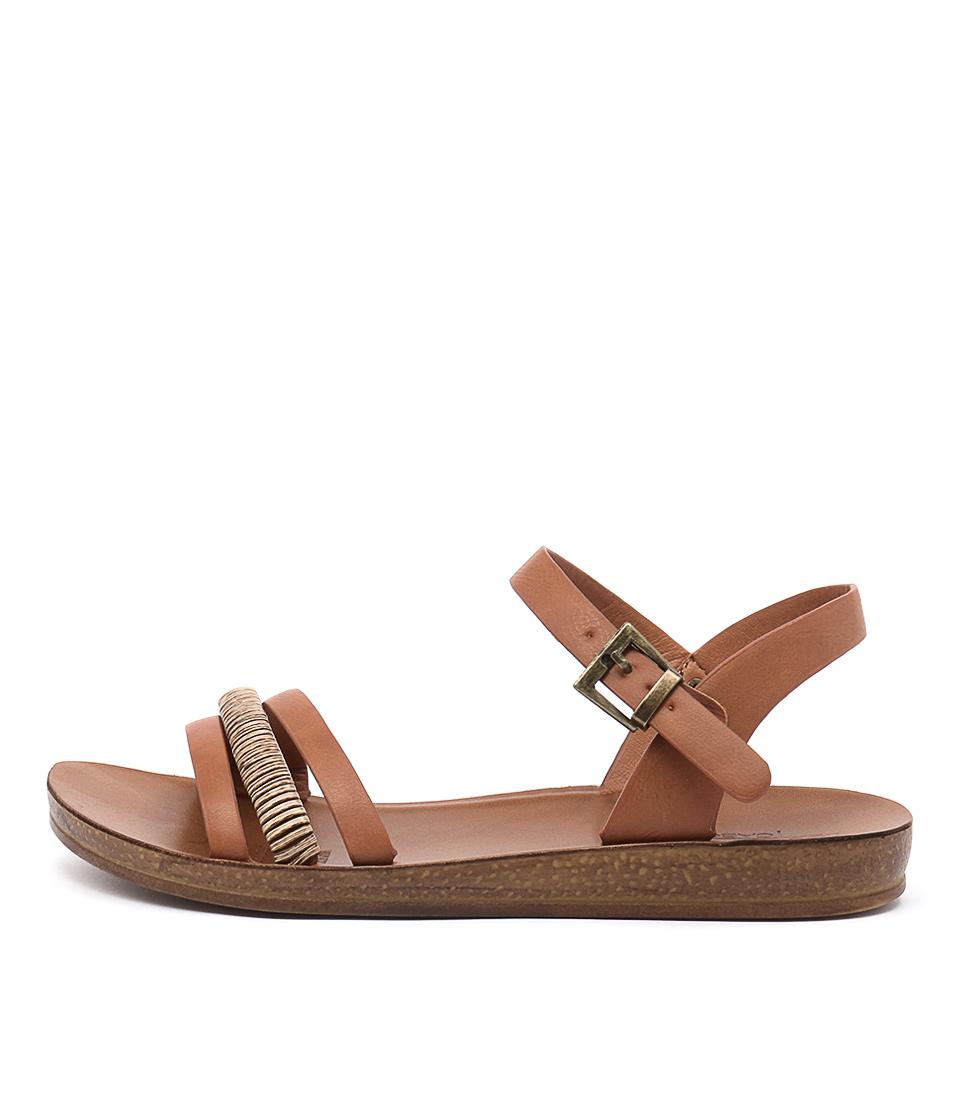 Los Cabos Breza Brandy Casual Flat Sandals