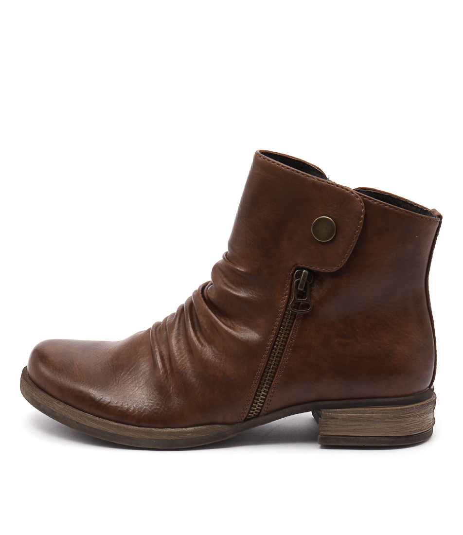 Los Cabos Corso Brandy Ankle Boots