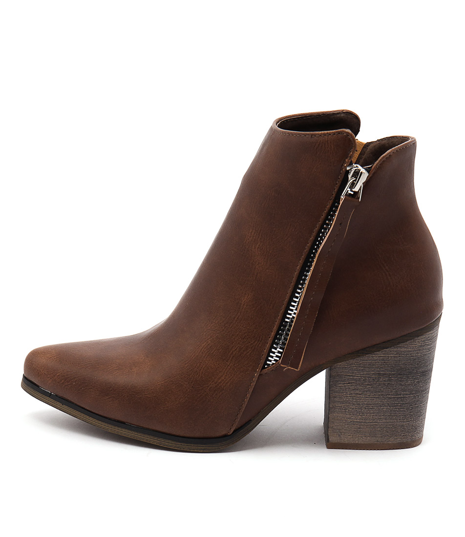 Los Cabos Vitali W Brandy Dress Ankle Boots