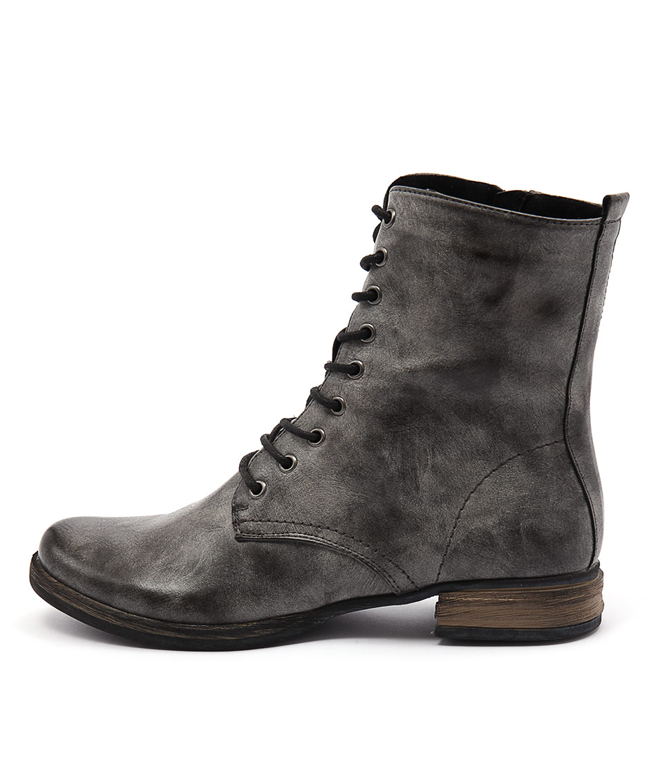 Los Cabos Cora Lc Cement Ankle Boots