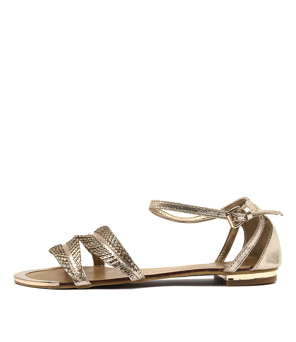 Laguna Quays Fern W Gold Sandals