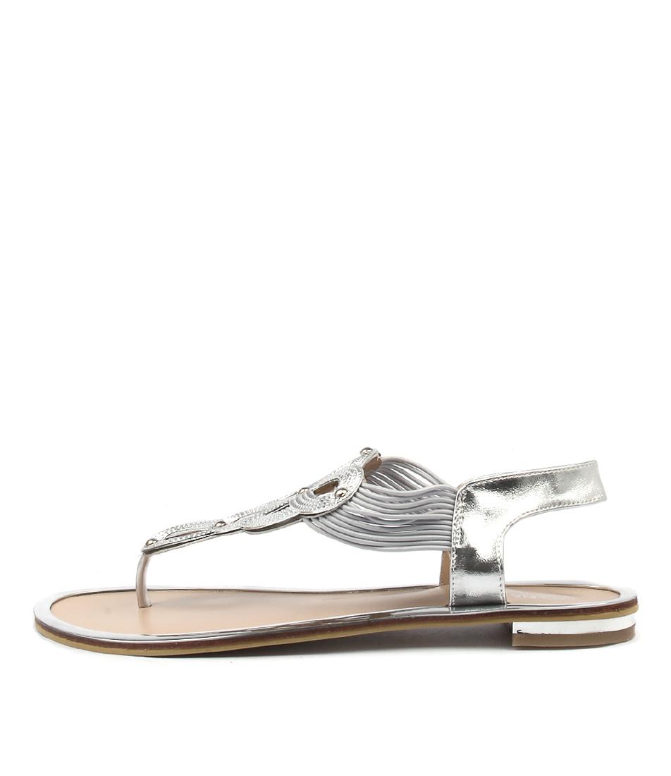 Laguna Quays Tamilina W Silver Casual Flat Sandals