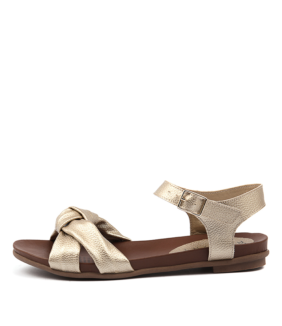 Laguna Quays Massle Gold Casual Flat Sandals