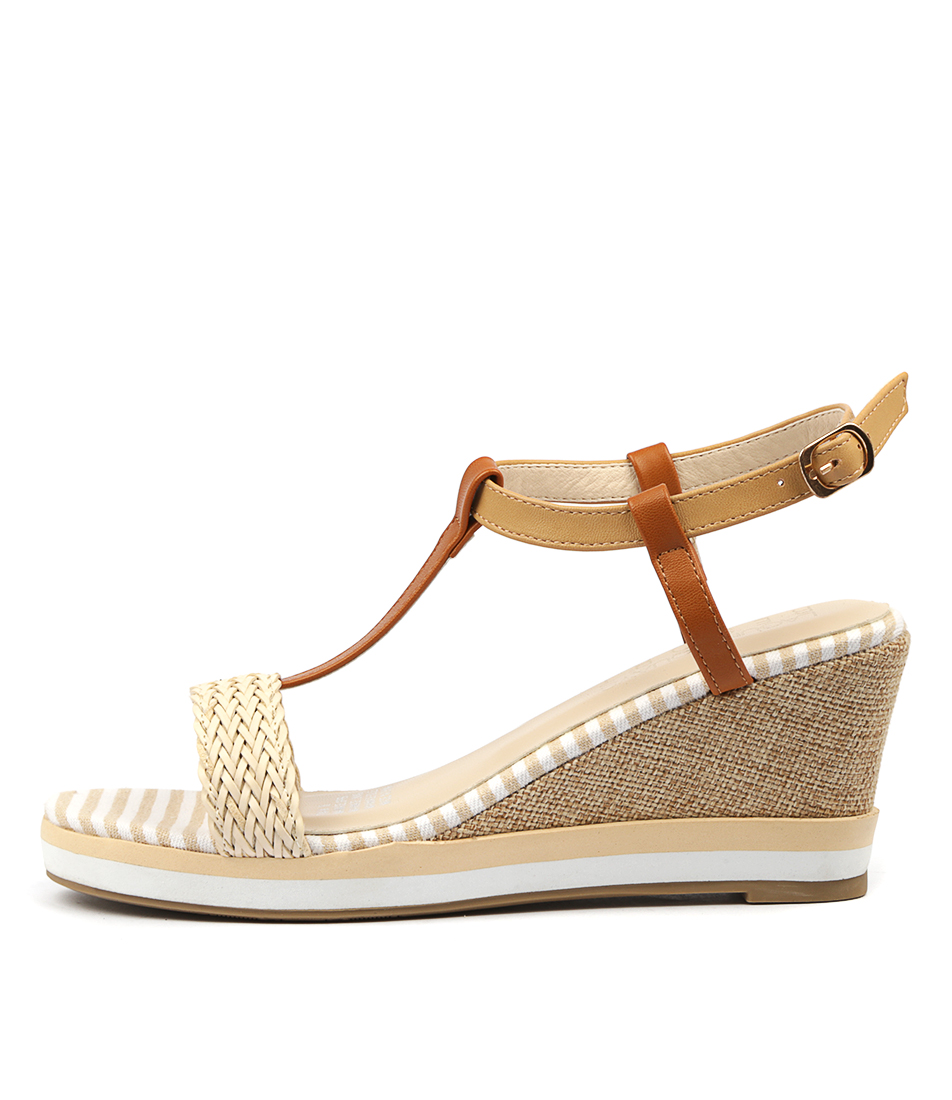 Buy Laguna Quays Tina W Nude Heeled Sandals online with free shipping