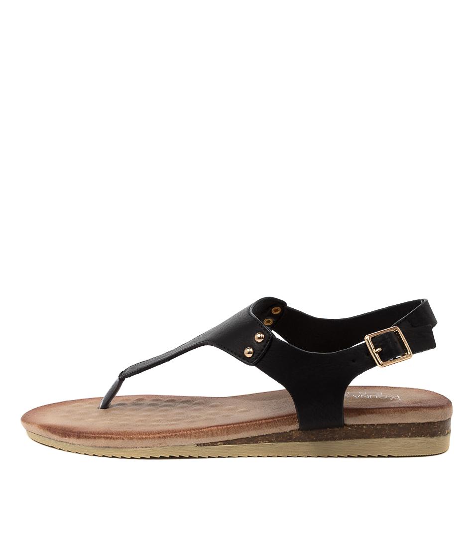 Buy Laguna Quays Khanita W Black Flat Sandals online with free shipping