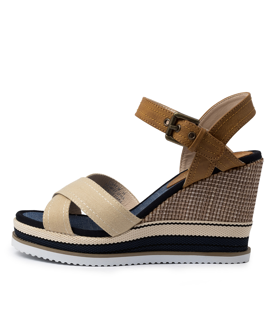 Buy Laguna Quays Tonye W Lq Beige Heeled Sandals online with free shipping