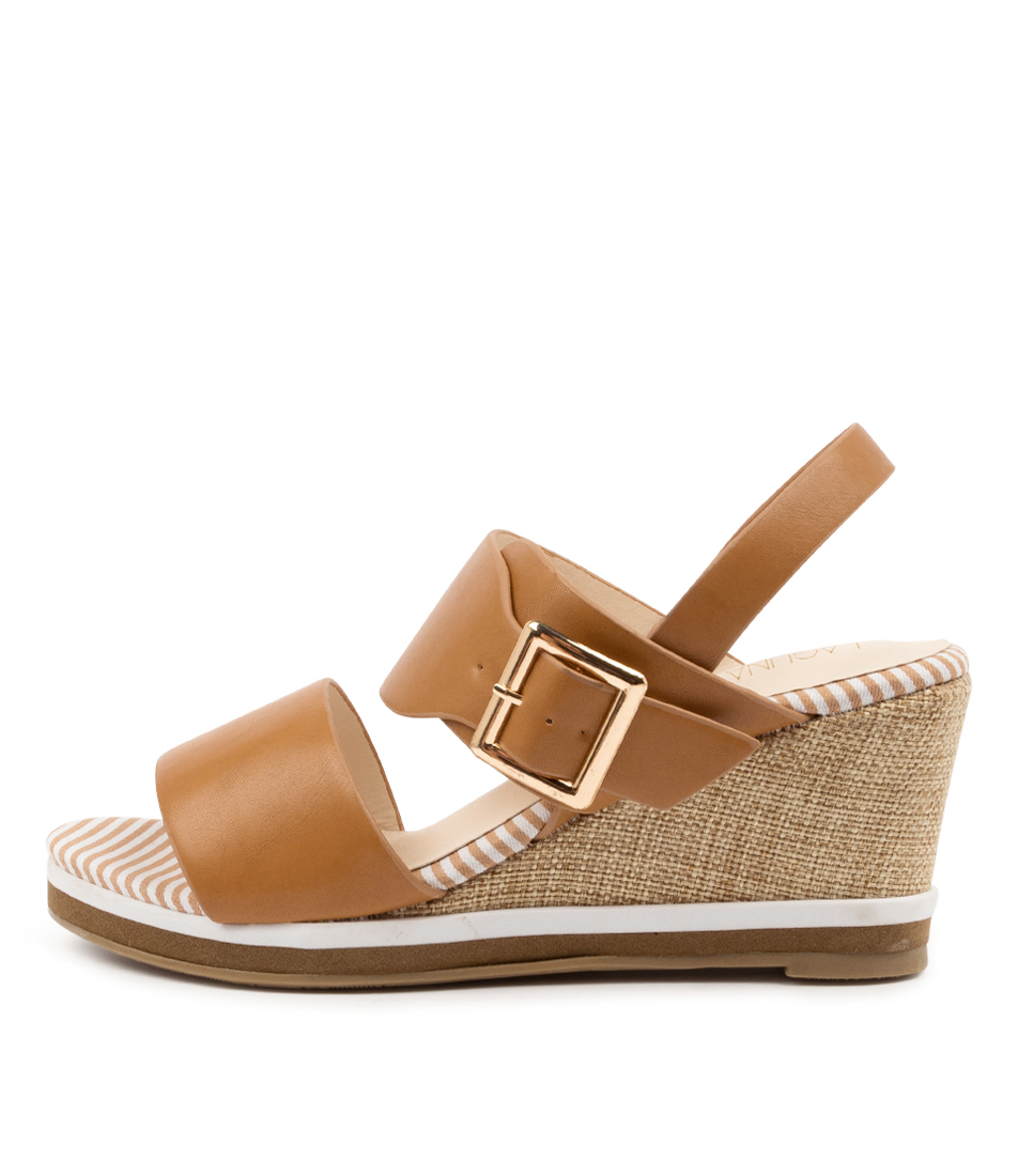 Buy Laguna Quays Timtam Lq Tan Heeled Sandals online with free shipping