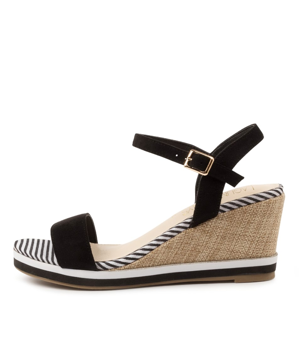 Buy Laguna Quays Token W Lq Black Heeled Sandals online with free shipping