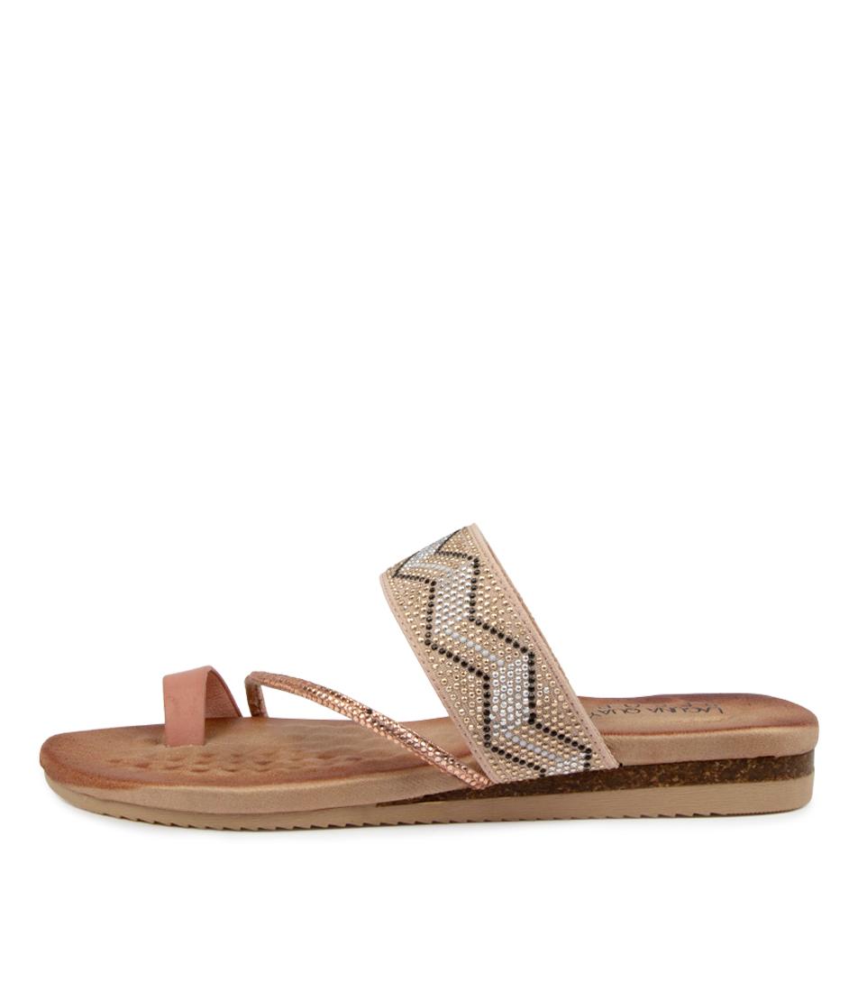Buy Laguna Quays Kippie W Lq Blush Tribal Sandals Flat Sandals online with free shipping