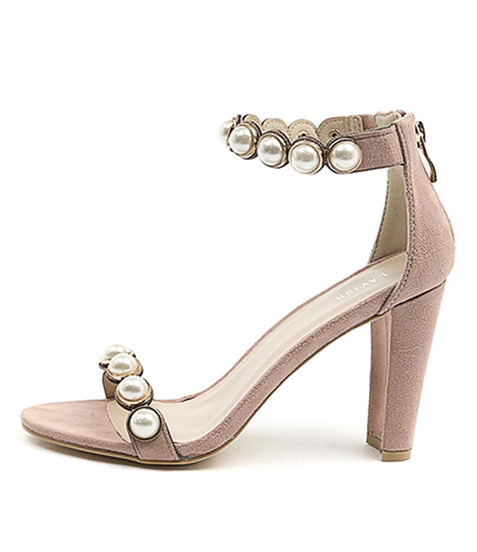 Lavish Ariel Lv Dusty Pink Dress Heeled Sandals