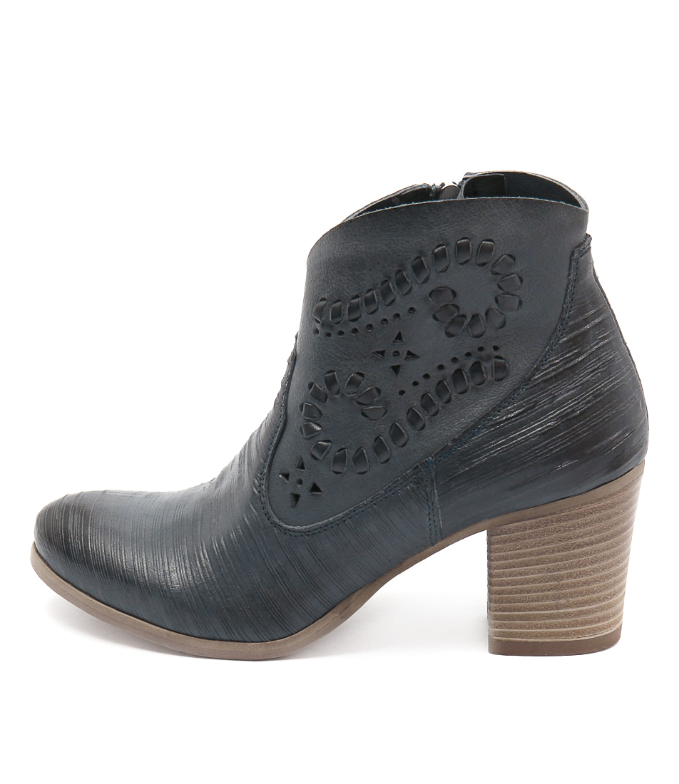 Maria Rossi Julietta Jeans Ankle Boots