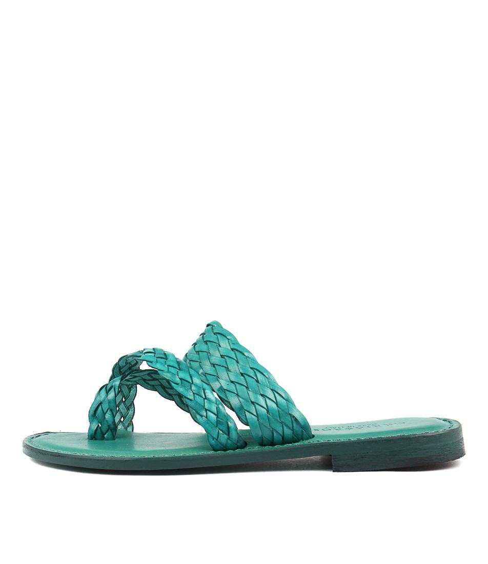 Maria Rossi Elana Turchese Sandals