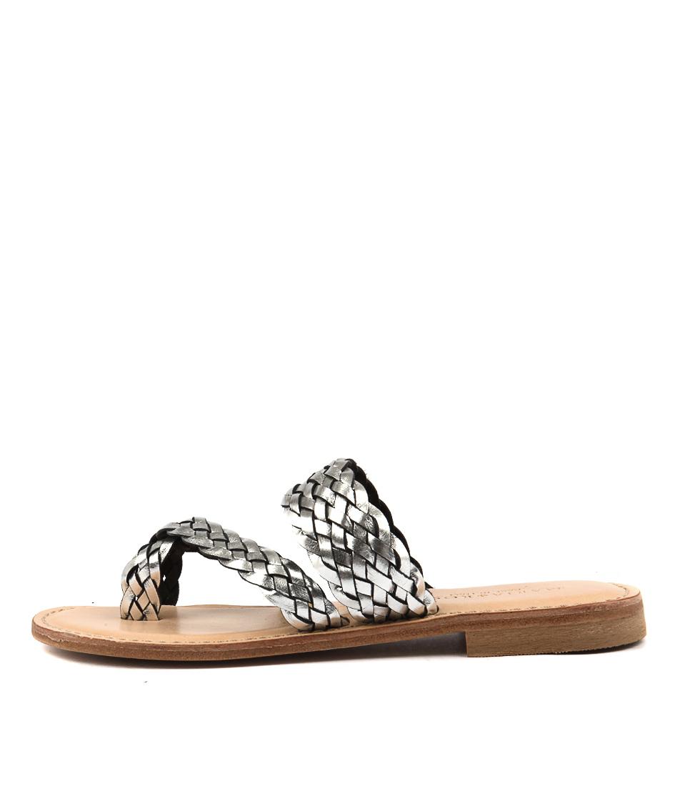 Maria Rossi Elana Argento Sandals