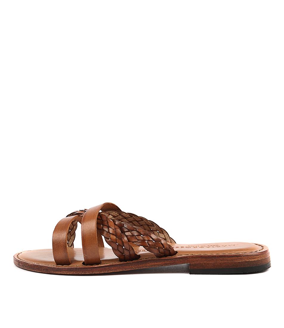 Maria Rossi Edvige Vacch Tan Sandals