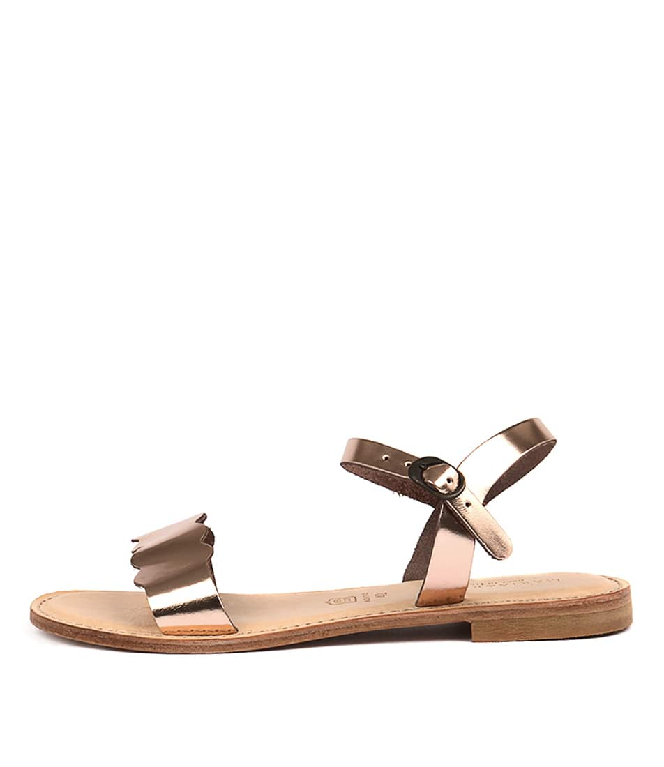 Buy Maria Rossi Elletra Rame Flat Sandals online with free shipping