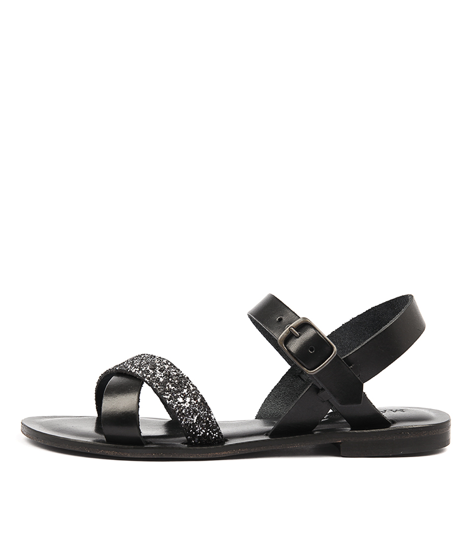 Maria Rossi Quartilla Nero Sandals