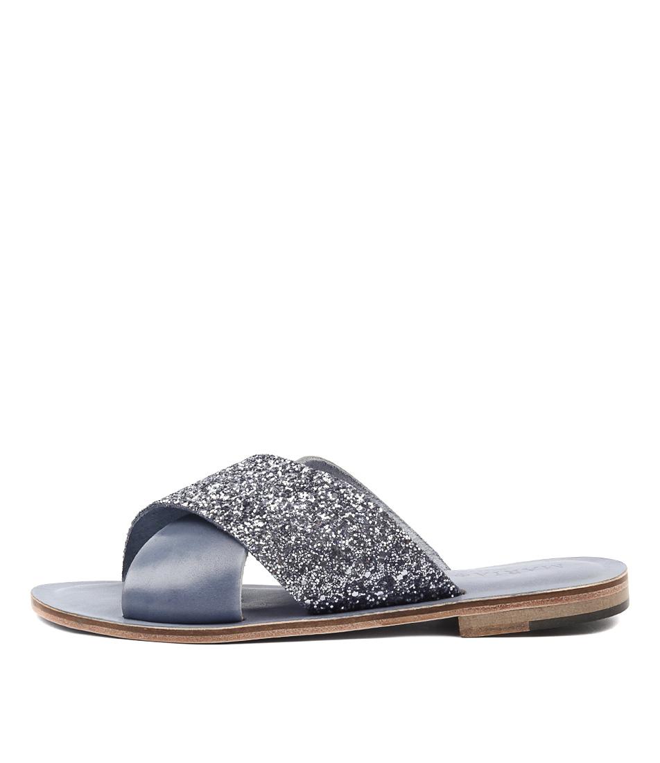 Maria Rossi Quieta Denim Casual Flat Sandals