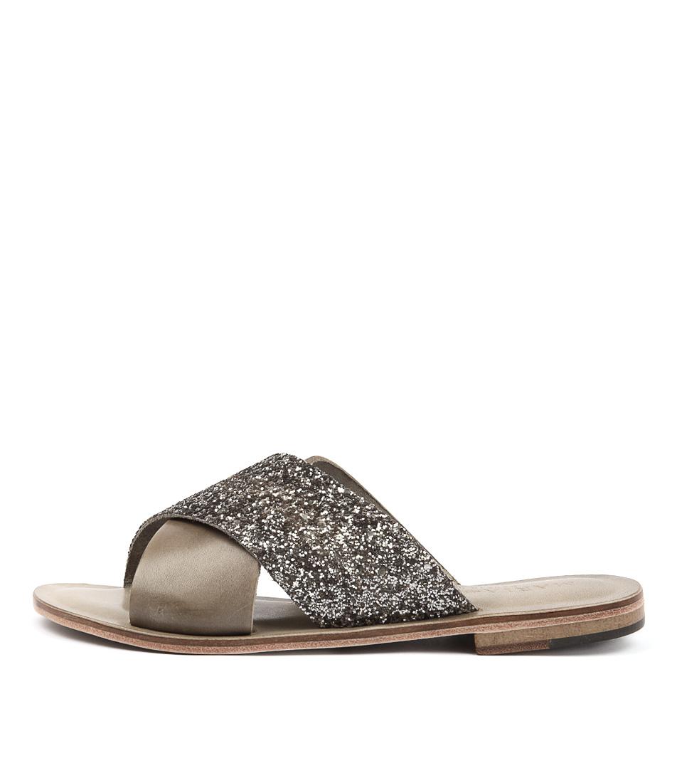 Maria Rossi Quieta Anthracite Sandals
