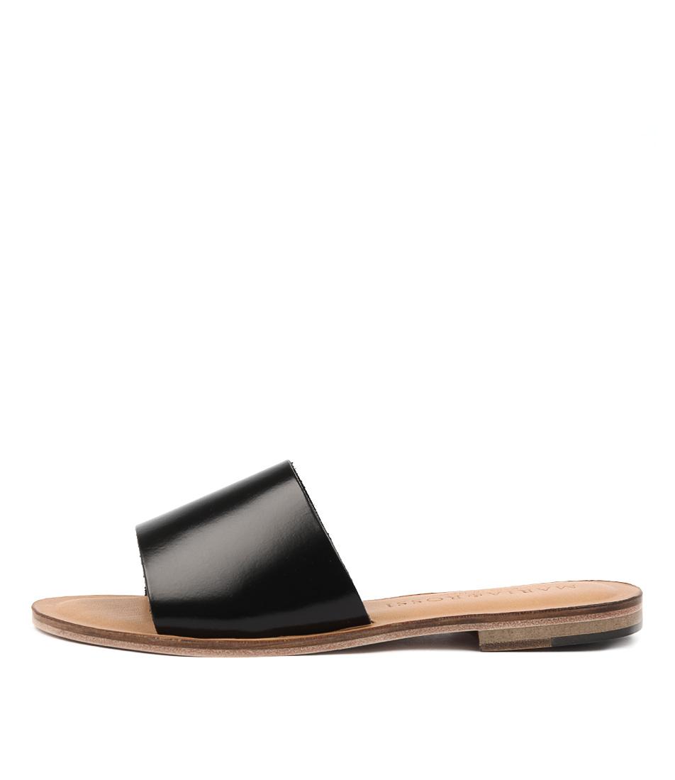 Maria Rossi Quiteria Black Sandals