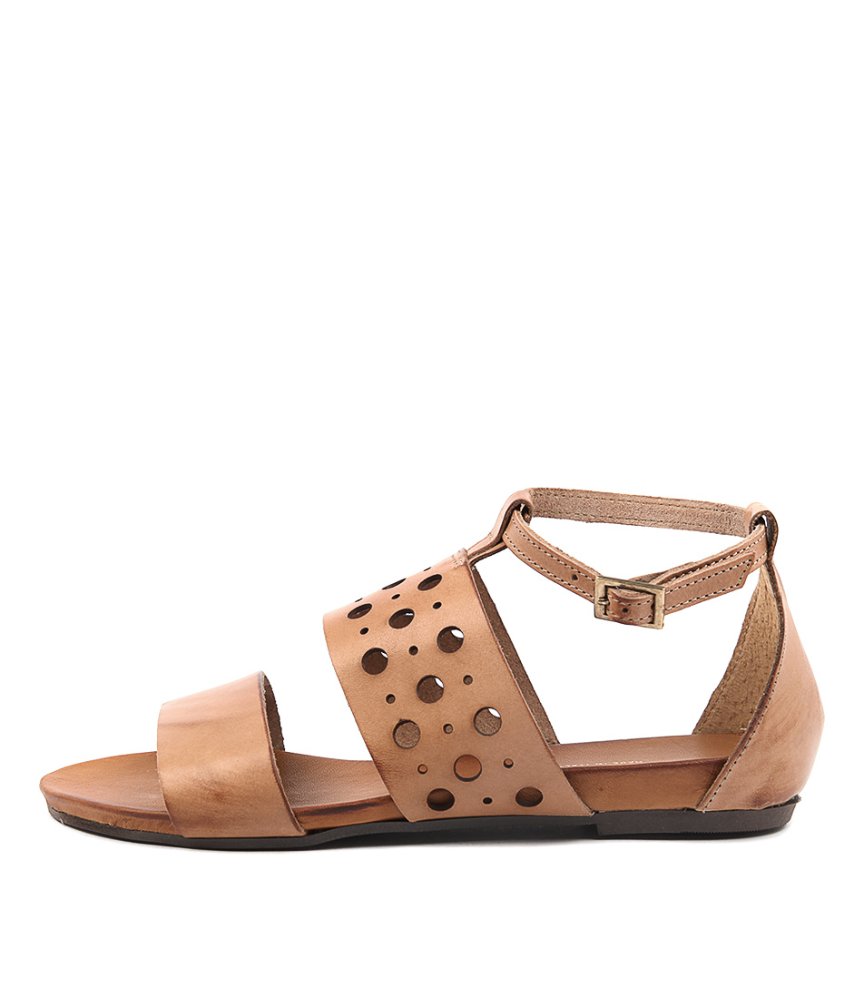 Maria Rossi Santina Ma Cuoio (Tan) Casual Flat Sandals buy  online