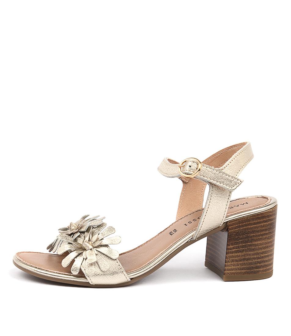 Maria Rossi Valeria Oro Heeled Sandals