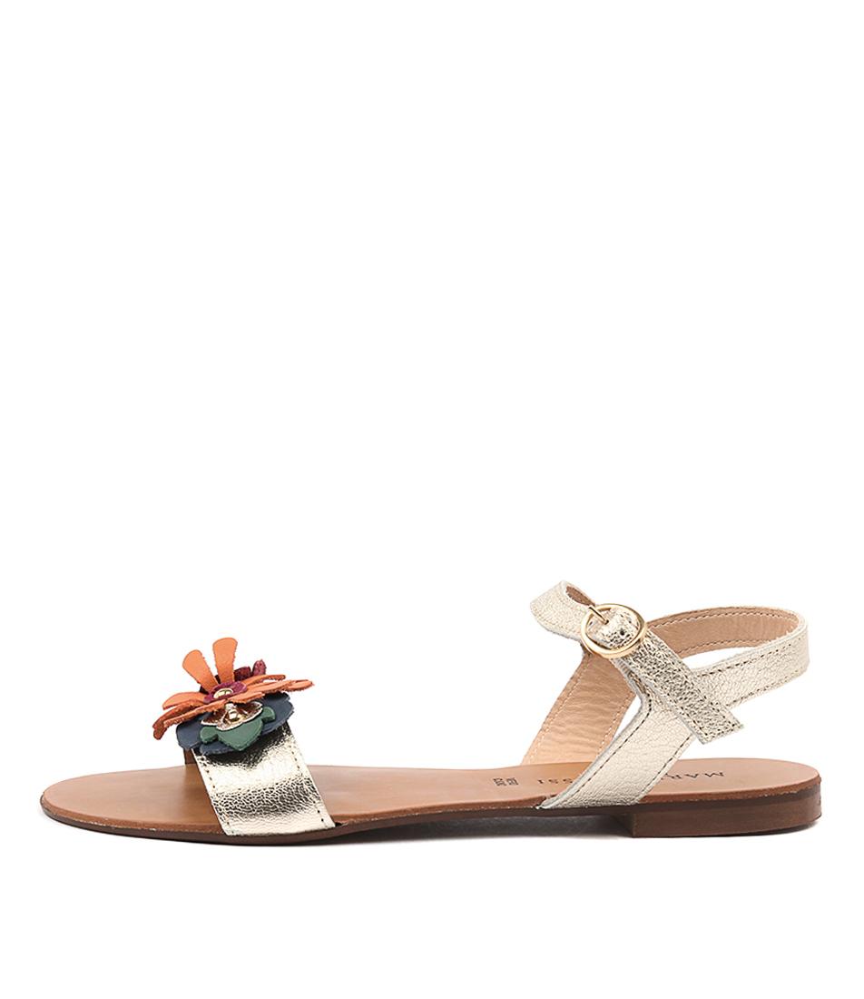 Maria Rossi Velio Gold Sandals