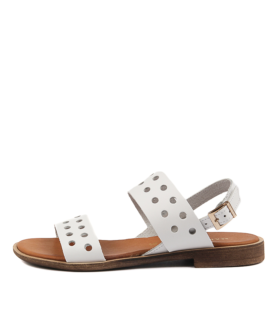 Photo of Maria Rossi Sabrina Sandal BiancoFlat Sandals womens shoes