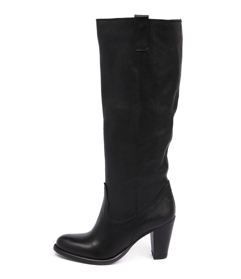 Maria Rossi Dakota St Black Casual Long Boots