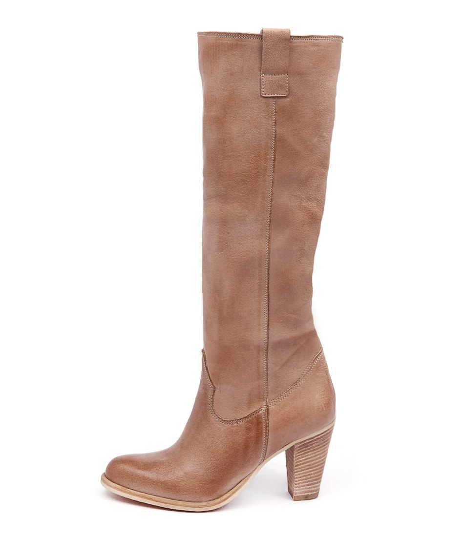 Maria Rossi Dakota St Taupe Casual Long Boots