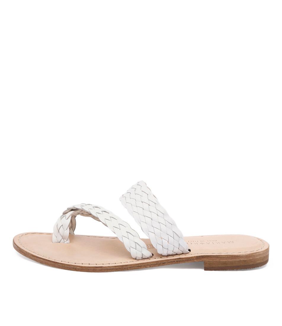 Maria Rossi Elana 1104 White Sandals