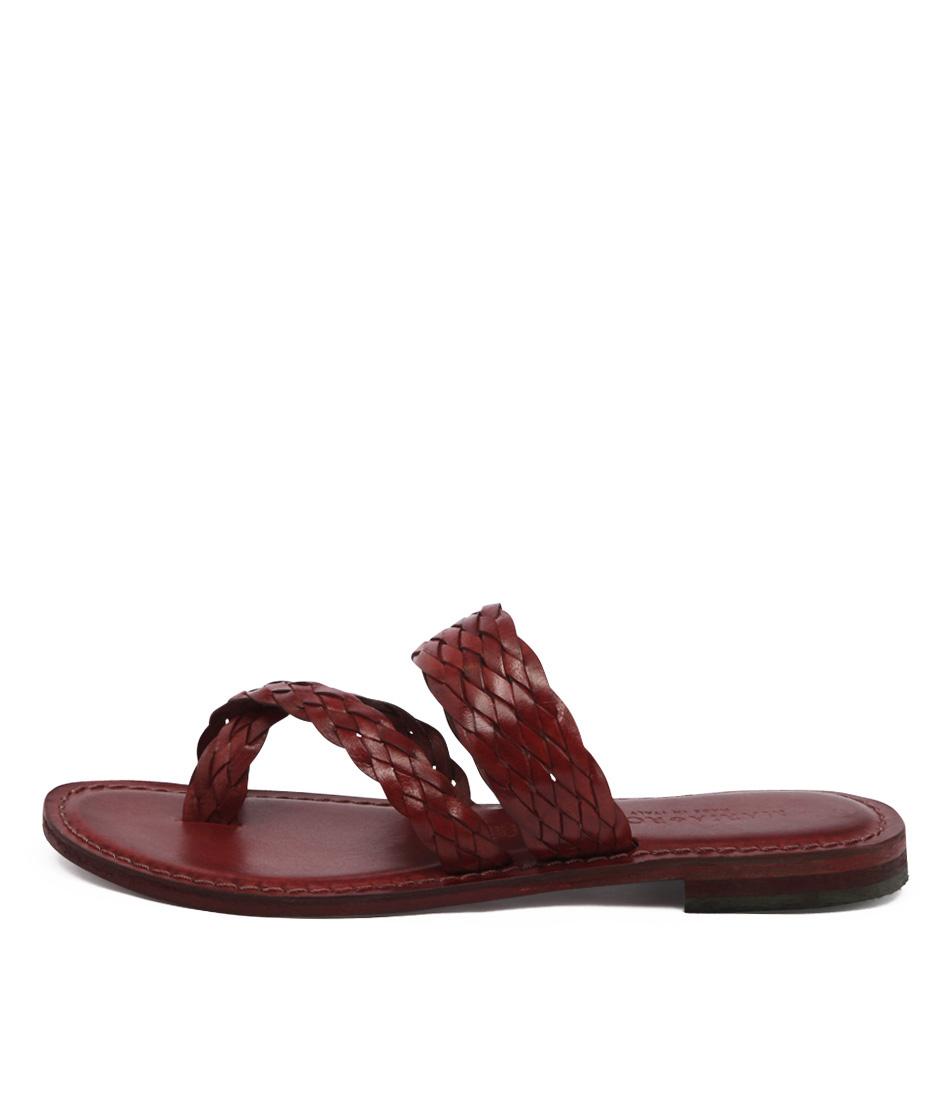 Maria Rossi Elana 1104 Rosso Sandals