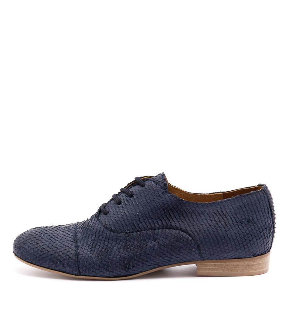 Maria Rossi Vanilla Blue Casual Flat Shoes