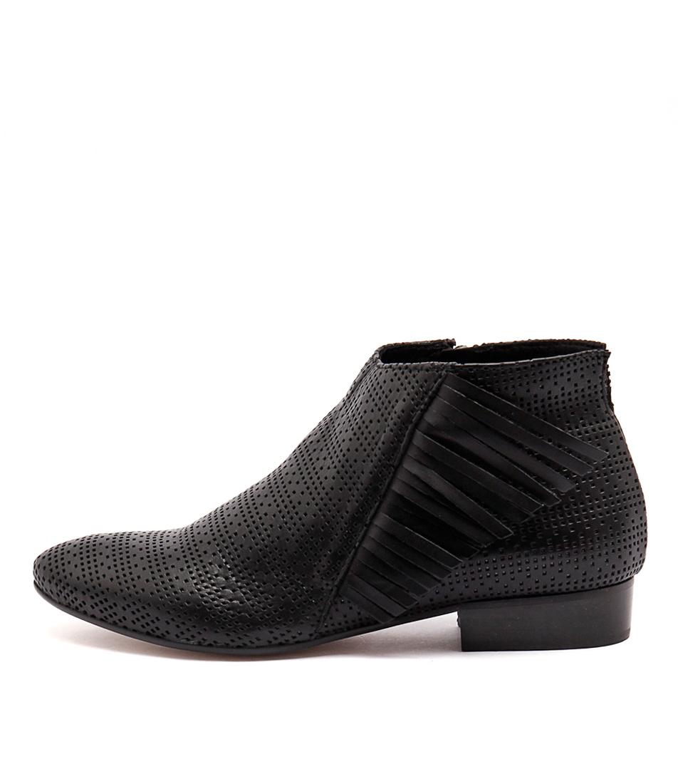 Maria Rossi Vixen Ma Nero Casual Ankle Boots
