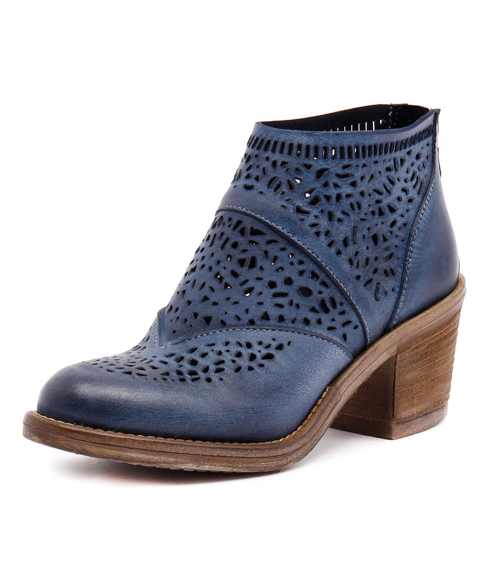 New Maria Rossi Venice St Blue Womens Shoes Casual Boots Ankle