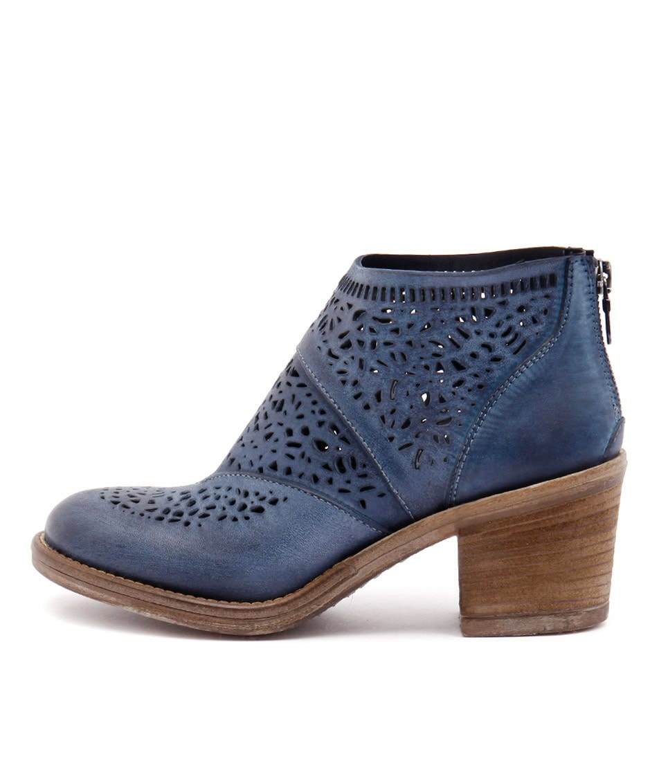 Maria Rossi Venice St Blue Casual Ankle Boots