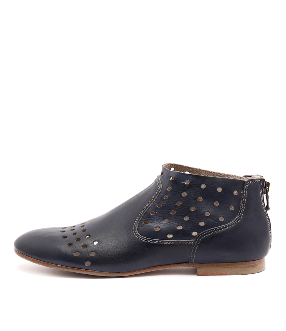 Maria Rossi Gabby Ma Blue Casual Ankle Boots