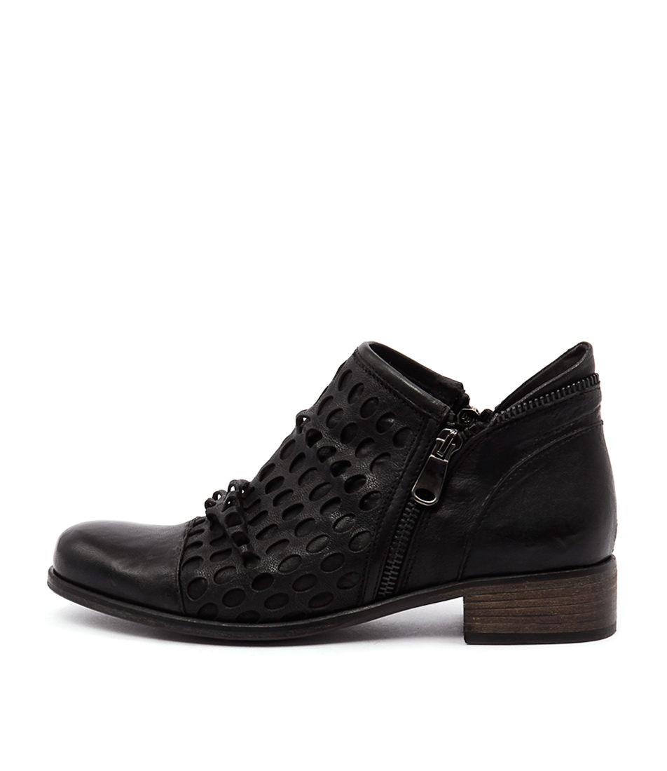 Maria Rossi Gerry Nero Ankle Boots