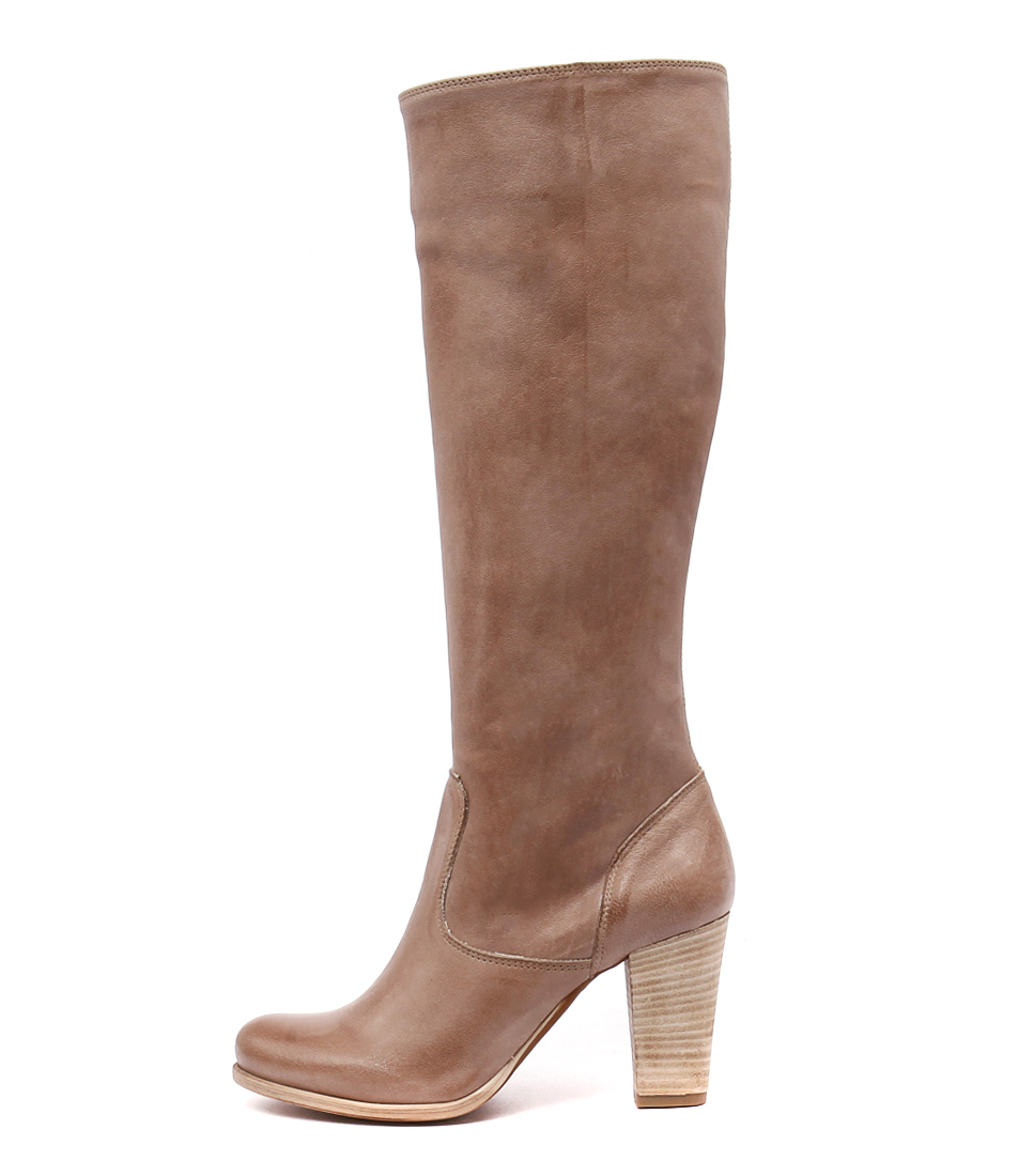 Maria Rossi Scali Taupe Casual Long Boots