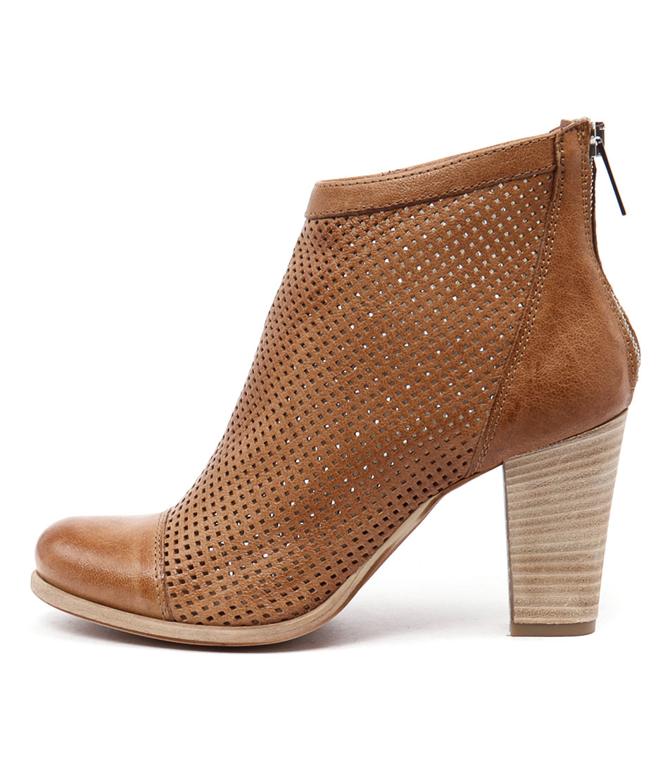 Maria Rossi Seasons Naturale (Dark Nude) Ankle Boots