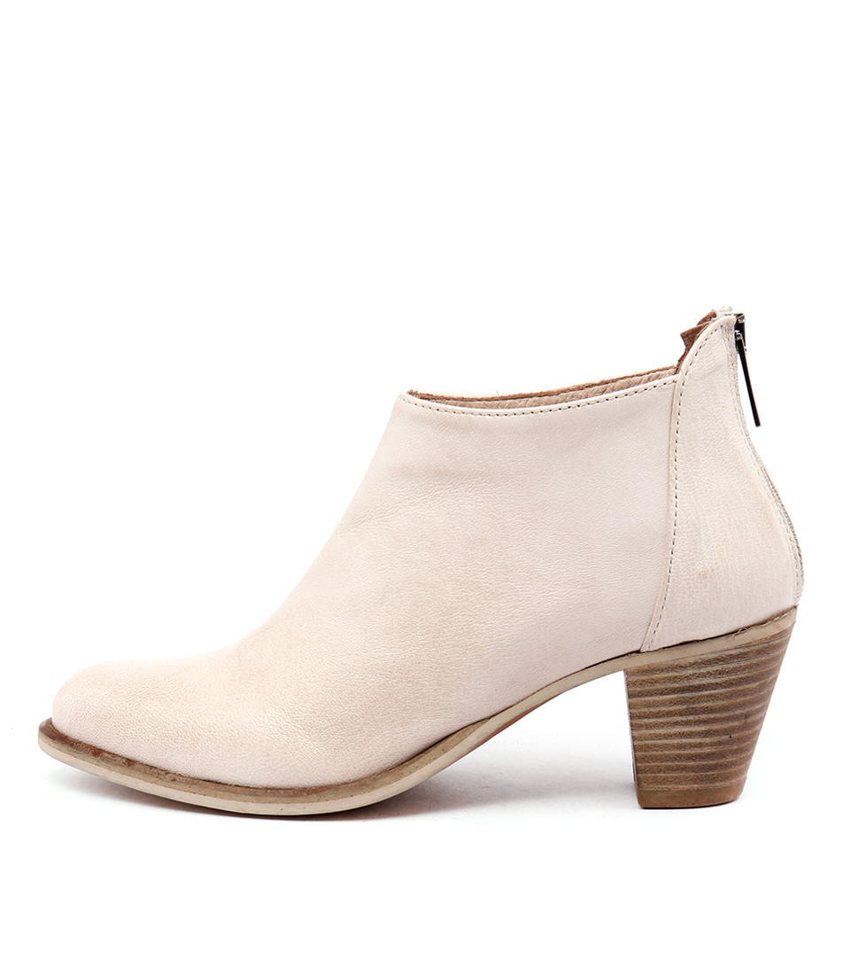Maria Rossi Sefton St Ghiaccio (Off White) Ankle Boots