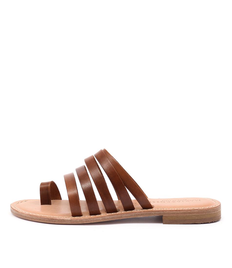 Maria Rossi Evie Ma Vacch Tan Sandals